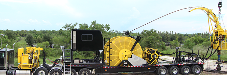 Trailer Mounted Coiled Tubing Units