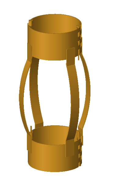 HINGED WELDED BOW SPRING CENTRALIZER (COT-002)