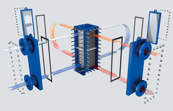 FULLY-WELDED PLATE HEAT EXCHANGERS