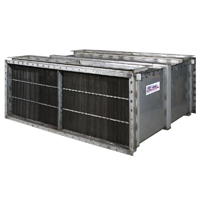Air-to-Air Industrial In-Line Wave Plate Heat Exchangers