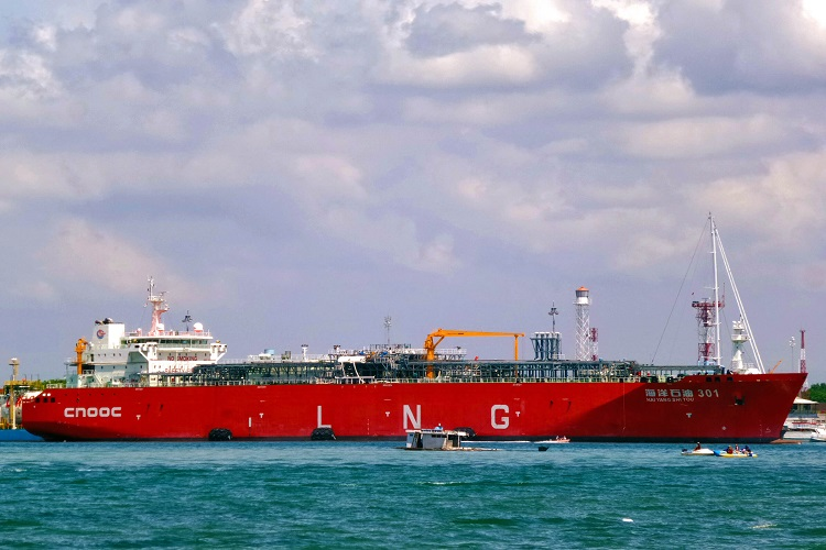 CNOOC receives its first LNG cargo from Yamal