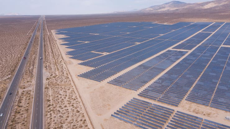 Solar costs dropped more than 70% over the last decade, and Biden wants to accelerate the trend