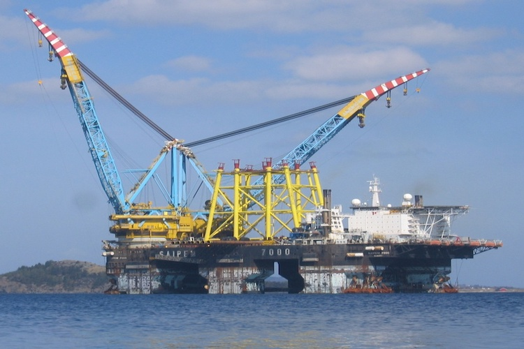Saipem's vessel in Caspian Sea met with an accident