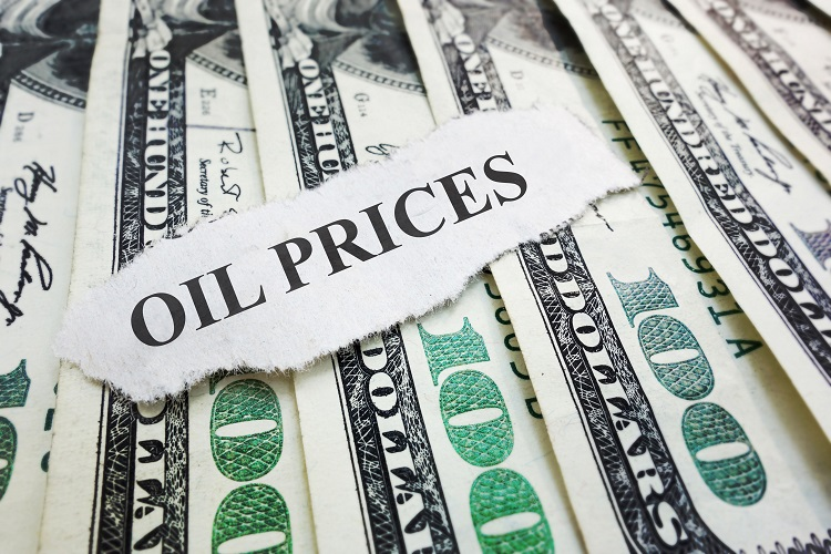 Oil prices fall ahead of Asian economic data release
