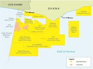 Exxon walks away from stake in deepwater Ghana block