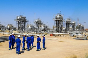 Iraq and Total mull $7 billion oil and gas infrastructure deal