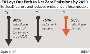 World needs no new oil, gas projects under the path to net-zero emissions by 2050: IEA