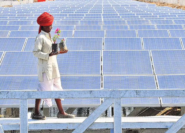 India's green energy goals boosted by return of international investors