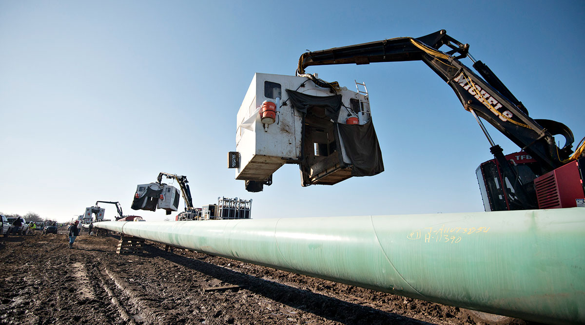 Keystone XL shutdown may signal the end of major U.S. oil infrastructure