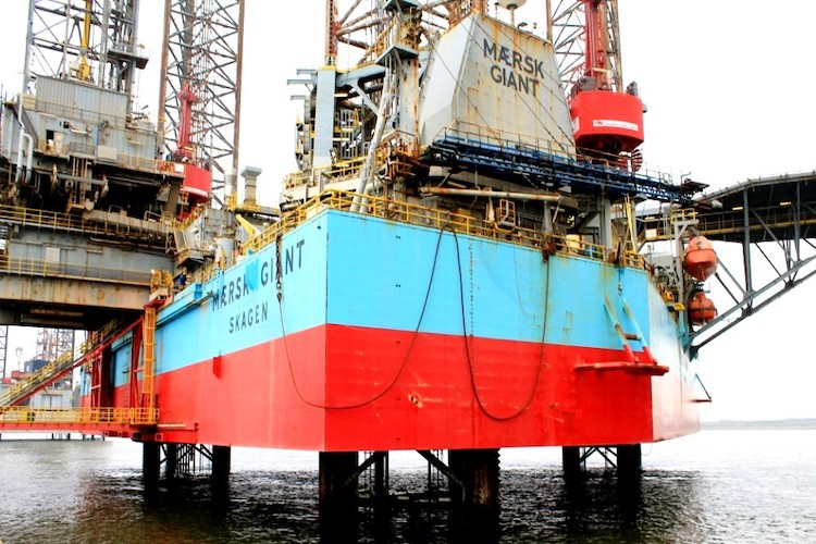 Maersk Drilling concludes the sale of jack-up rig Giant