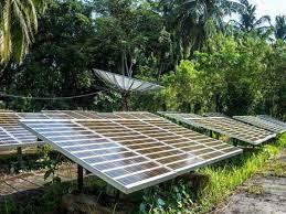 In rural Karnataka, businesses powered by solar energy clean up