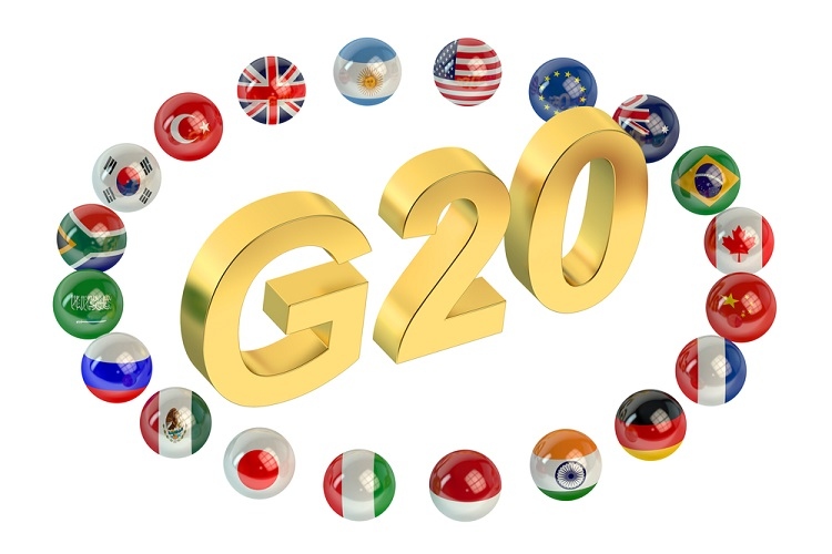 Oil prices ticked higher ahead of G20