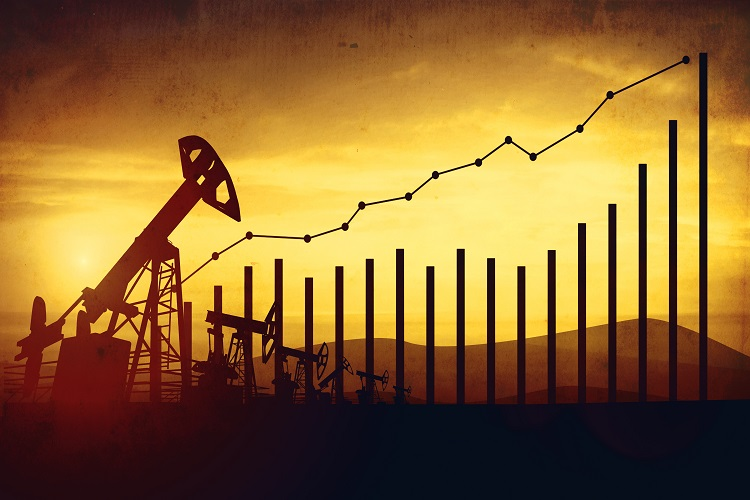 Oil prices climbing uphill